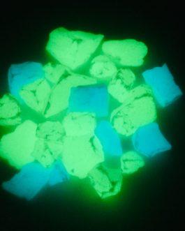 Люмінесцентні камінці, що світяться в темряві